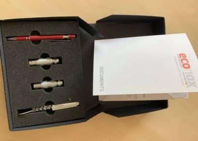 Packaging des sondes à oxygène Carboprobe